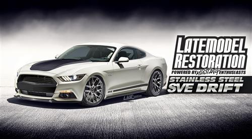 2015 Mustang Wheel & Tire Guide - 2015 Mustang With SVE Drift Wheels